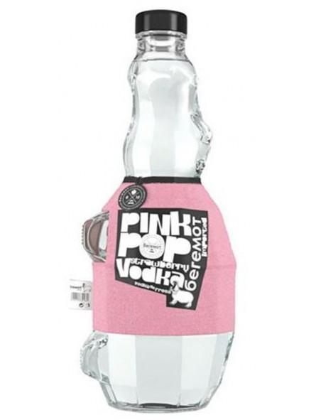 Vodka Beremot Pink Pop Strawberry