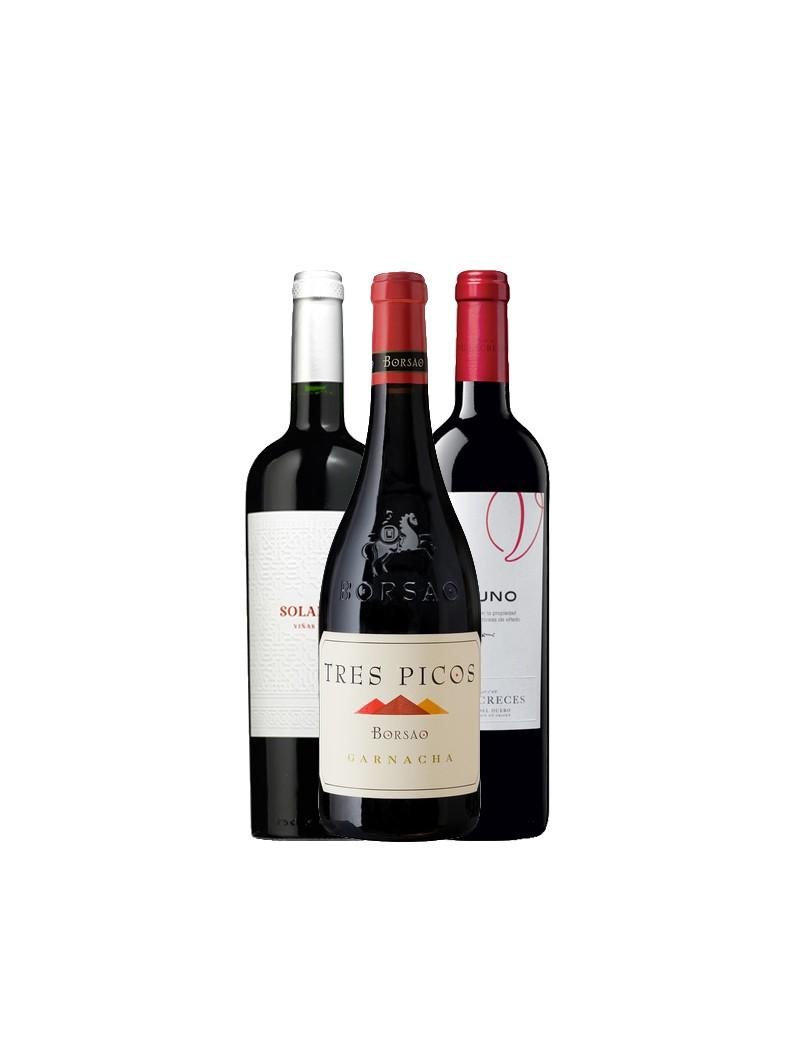 Pack Top Vinos Parker