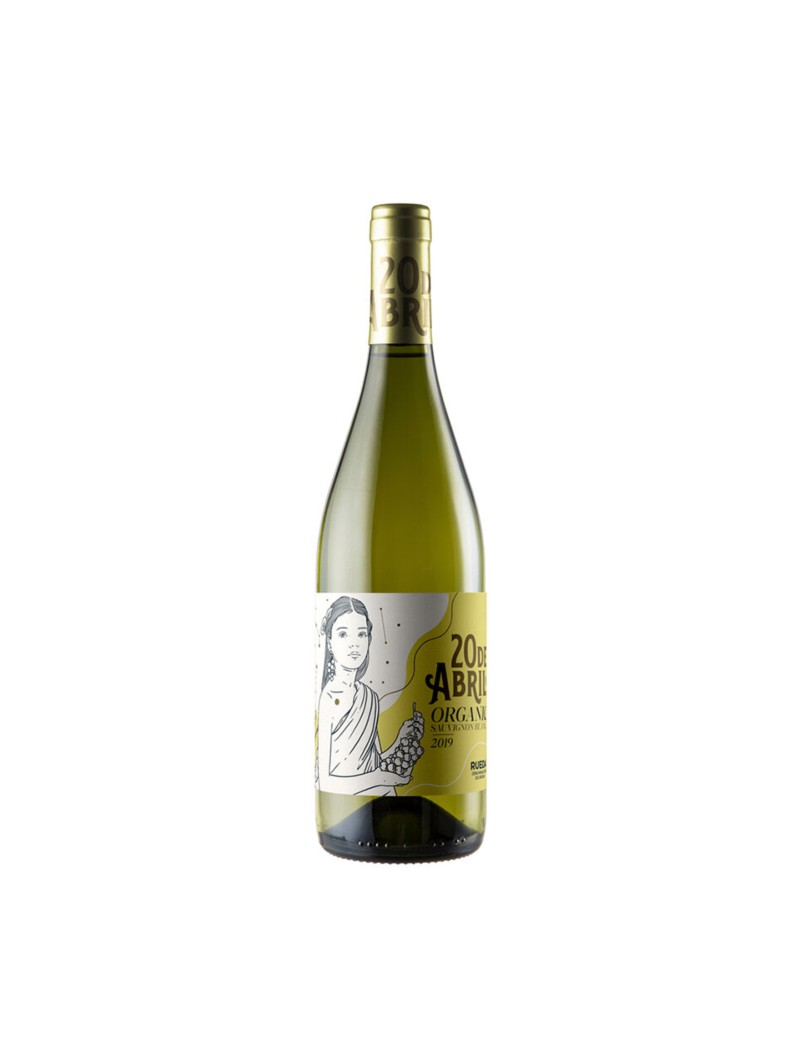 Vino Blanco 20 de Abril Sauvignon Blanc Ecologico Vegano
