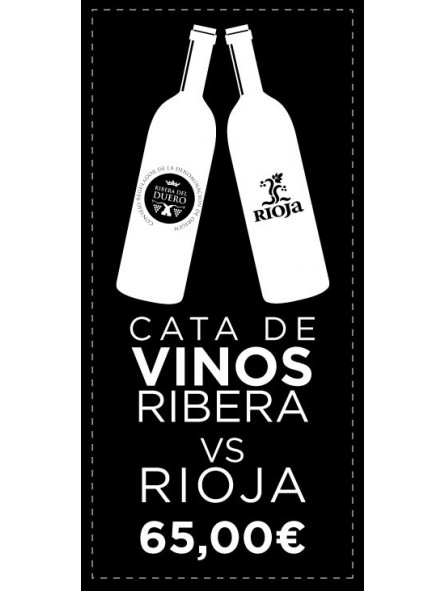 Cata de Vinos Ribera Vs Rioja En Madrid